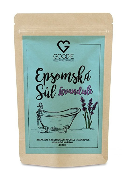 Zobrazit detail výrobku Goodie Epsomská sůl s levandulí 250 g