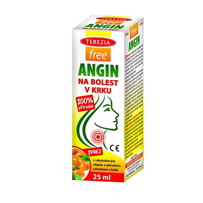 Zobrazit detail výrobku Terezia company FreeANGIN spray na bolest v krku 25 ml