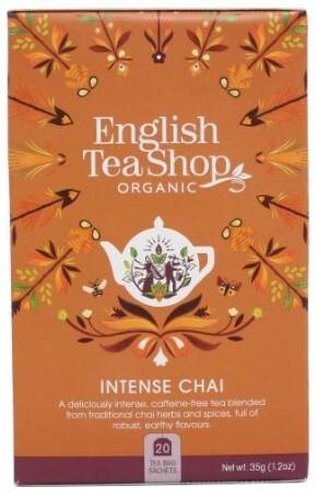 Zobrazit detail výrobku English Tea Shop Intenzivní Chai BIO 20 sáčků