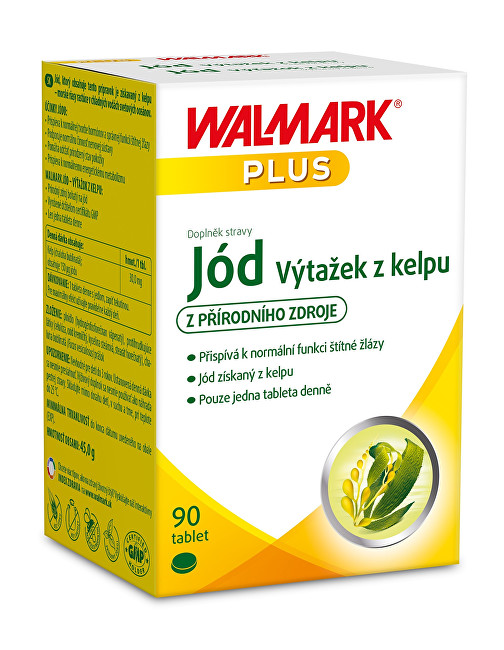 Zobrazit detail výrobku Walmark Jód z Kelpu 90 tbl.