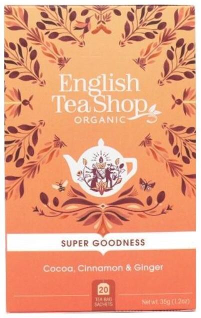 Zobrazit detail výrobku English Tea Shop Kakao, skořice a zázvor BIO 20 sáčků
