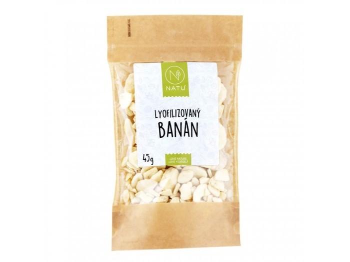 Zobrazit detail výrobku Natu Lyofilizovaný banán plátky 45 g