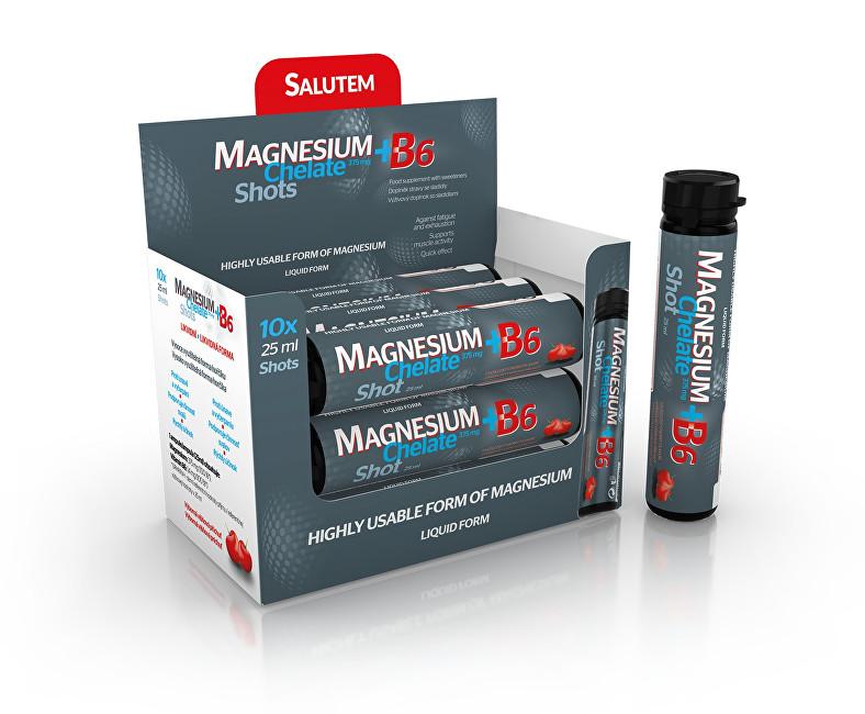 Zobrazit detail výrobku SALUTEM Pharma Magnesium Chelate 375 mg + B6 10 x 25 ml