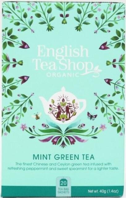 Zobrazit detail výrobku English Tea Shop Máta a zelený čaj 20 sáčků