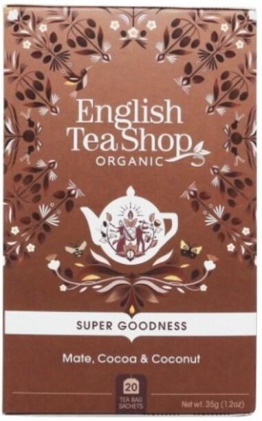 Zobrazit detail výrobku English Tea Shop Mate, kakao a kokos 20 sáčků