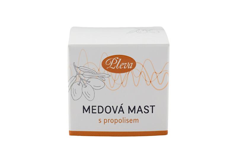 Zobrazit detail výrobku Pleva medová mast s propolisem 20 g