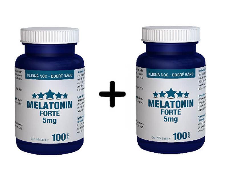 Zobrazit detail výrobku Clinical Nutricosmetics Melatonin Forte 100 tablet