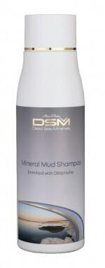 Minerální bahenní šampon s rakytníkem  500 ml