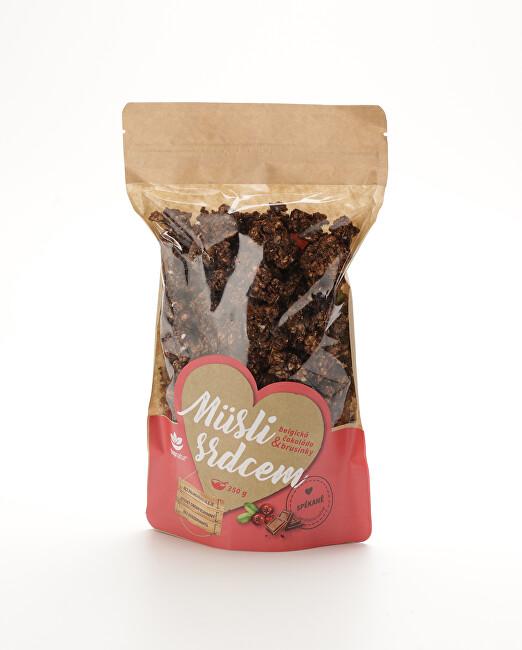 Zobrazit detail výrobku Topnatur Müsli Belgická čokoláda & brusinky 350 g