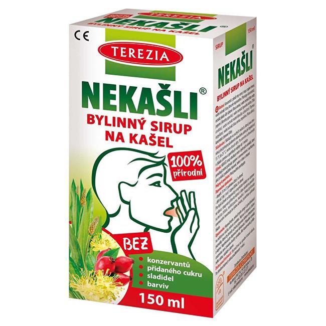 Terezia Company Nekašli přírodní bylinný sirup 150 ml