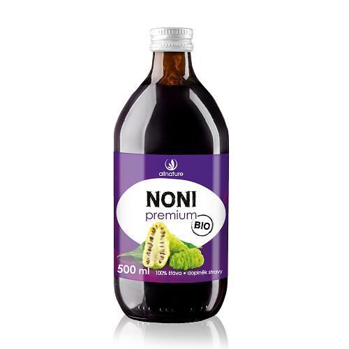 Allnature Noni Premium - 100% Bio šťava 500 ml