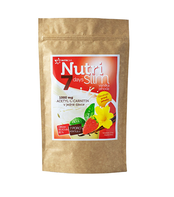 Zobrazit detail výrobku Nutricius NutriSlim Vanilka Jahoda 210 g