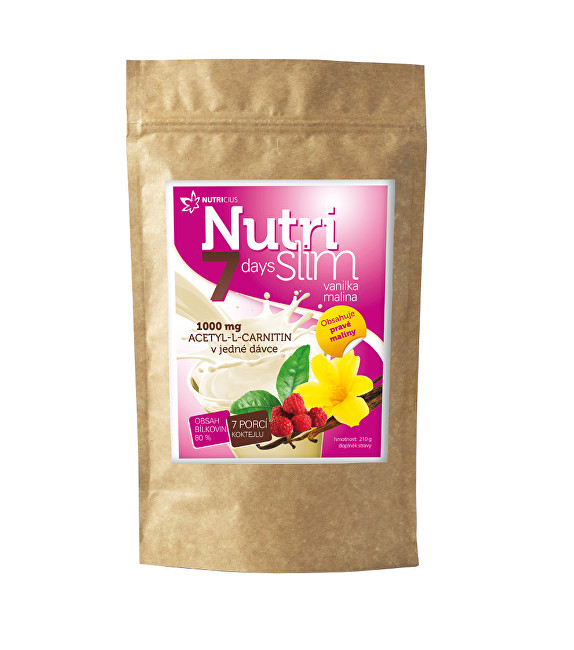 Zobrazit detail výrobku Nutricius NutriSlim Vanilka – Malina 210 g