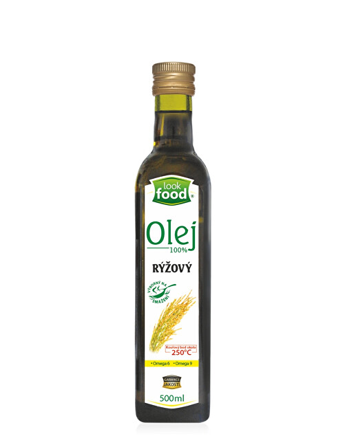 Look food s.r.o Olej rýžový 100 percent 500 ml