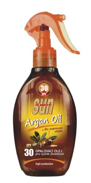 Zobrazit detail výrobku SUN Opalovací olej s arganovým olejem OF 30 rozprašovací 200ml