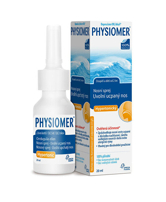 Zobrazit detail výrobku Omega Pharma Physiomer Hypertonic 20 ml