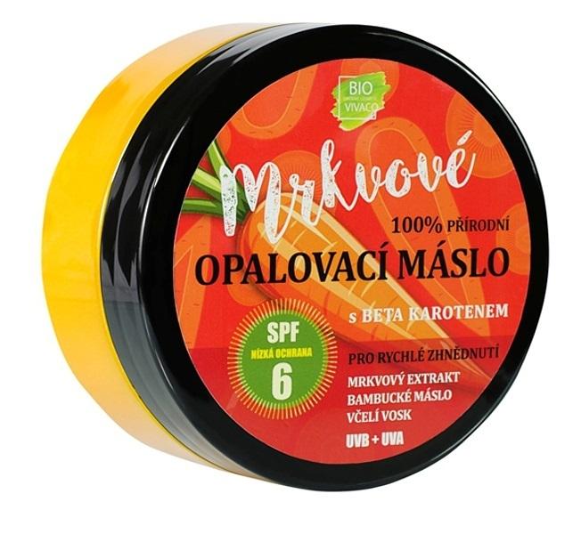 Zobrazit detail výrobku Vivaco Přírodní opalovací mrkvové máslo OF 6 150 ml