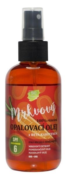 Přírodní opalovací mrkvový olej OF 6 150 ml