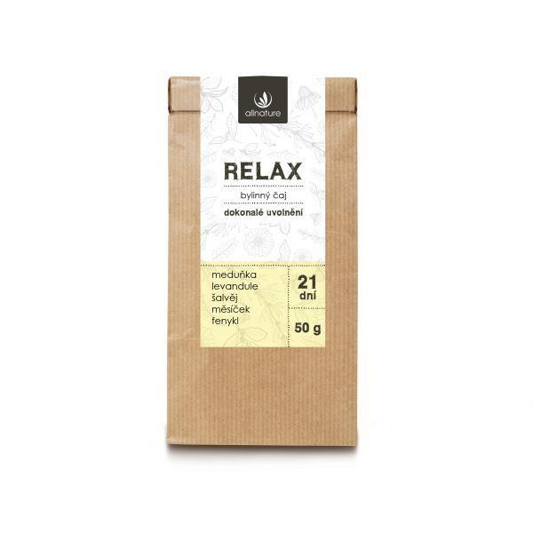 Zobrazit detail výrobku Allnature Relax Bylinný čaj 50 g