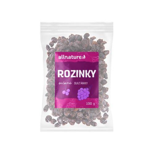 Zobrazit detail výrobku Allnature Rozinky 100 g