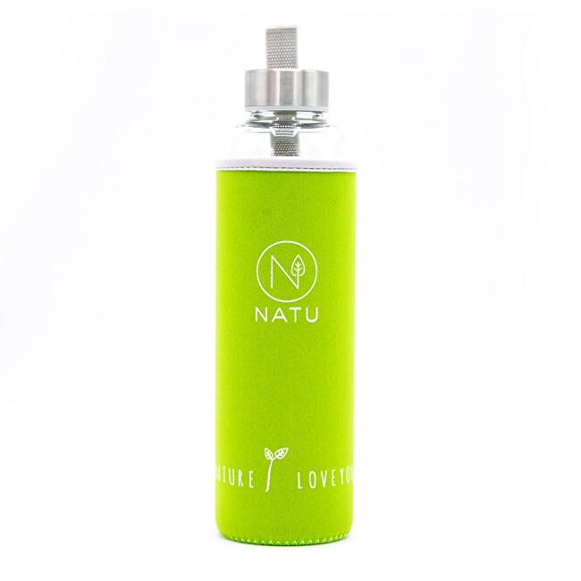 Zobrazit detail výrobku Natu Skleněná lahev v zeleném termo obalu Natu 550 ml