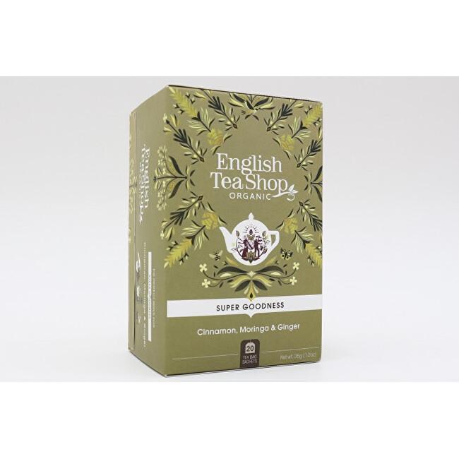 Zobrazit detail výrobku English Tea Shop Skořice, moringa a zázvor Super Veggie Tea 20 sáčků