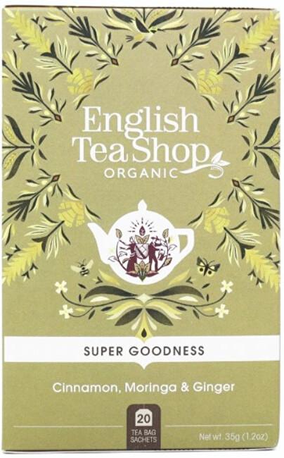 Zobrazit detail výrobku English Tea Shop Skořice, moringa a zázvor Veggie čaj 20 sáčků