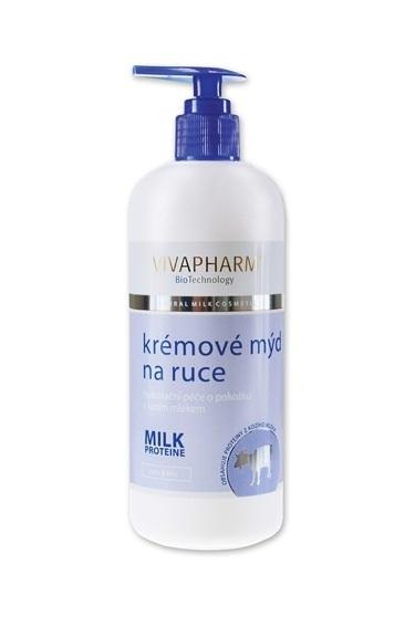 Zobrazit detail výrobku Vivapharm Tekuté mýdlo s kozím mlékem 400 ml