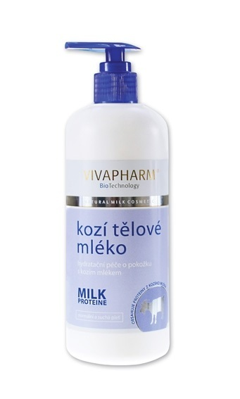 Zobrazit detail výrobku Vivapharm Tělové mléko s kozím mlékem 400 ml