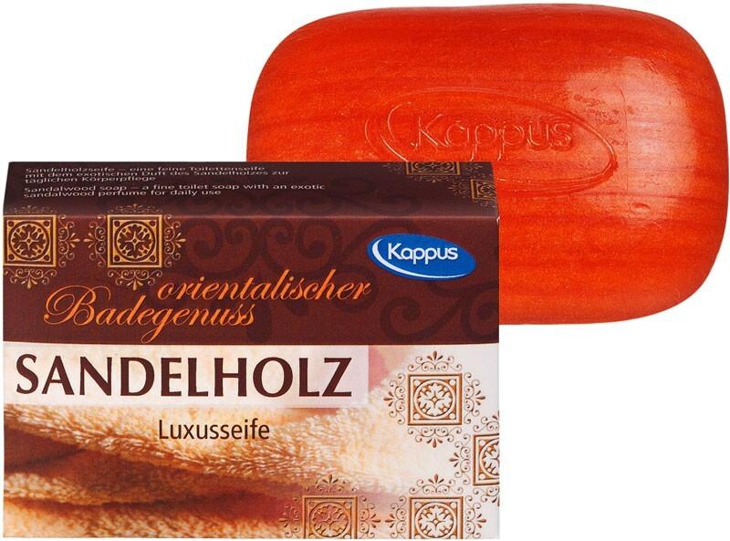 Zobrazit detail výrobku Kappus Toaletní mýdlo KAPPUS 100g 3-0500 Santalové dřevo 100 g