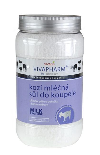 Zobrazit detail výrobku Vivapharm Sůl do koupele s kozím mlékem 1200 g