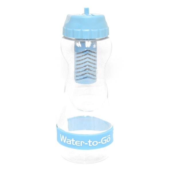 Zobrazit detail výrobku Water-to-GO Water-to-GO lahev 0,50 l modrá