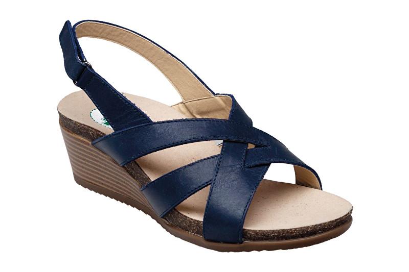 Zobrazit detail výrobku SANTÉ Zdravotní obuv dámská EKS/152-26 NAVY modrá 38