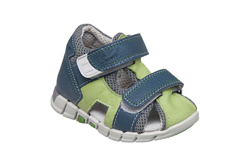 Zobrazit detail výrobku SANTÉ Zdravotní obuv dětská N/810/401/S89/S90 zelená 28