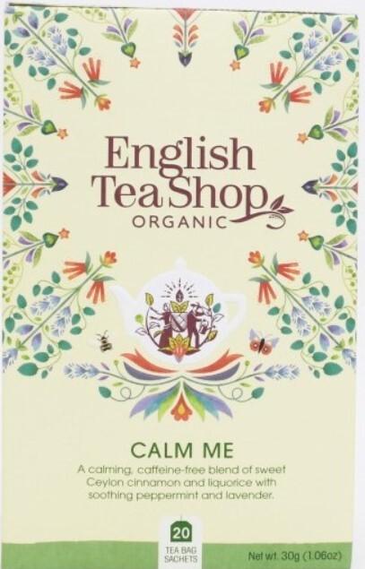 Zobrazit detail výrobku English Tea Shop Zklidňující směs BIO 20 sáčků