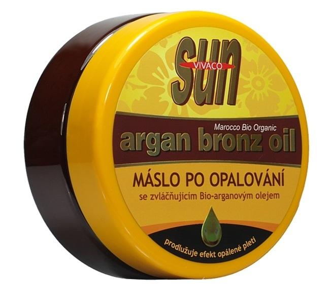 Zobrazit detail výrobku SUN Zvláčňující máslo Argan bronz oil po opalování 200 ml