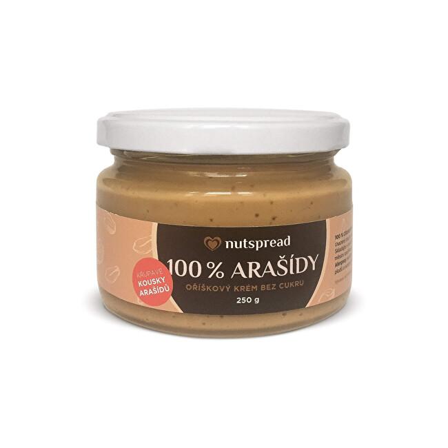 Zobrazit detail výrobku Nutspread 100% Arašídový krém crunchy 250 g
