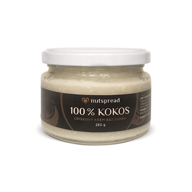 Zobrazit detail výrobku Nutspread 100% Kokosový krém 250 g