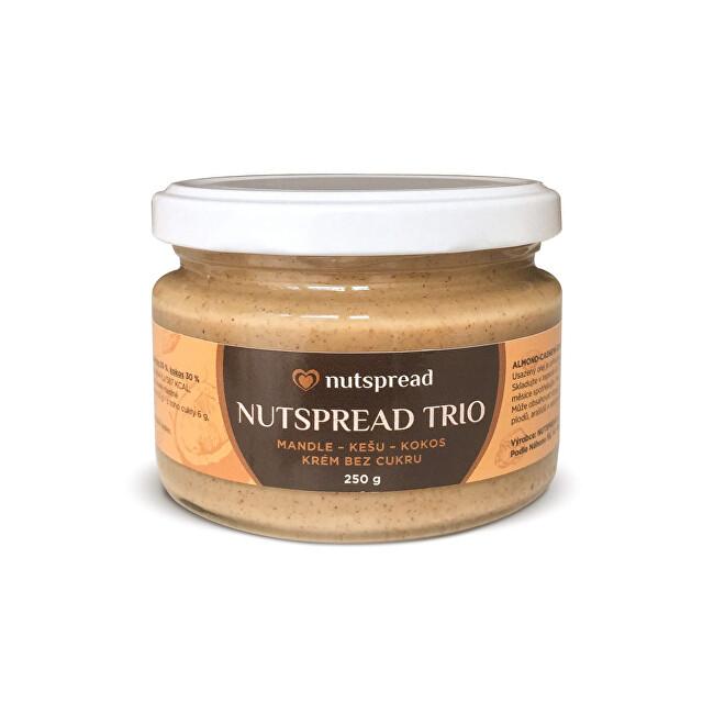 Zobrazit detail výrobku Nutspread 100% Trio ze tří druhů ořechů 250g - SLEVA - KRÁTKÁ EXPIRACE - 28.2.2021