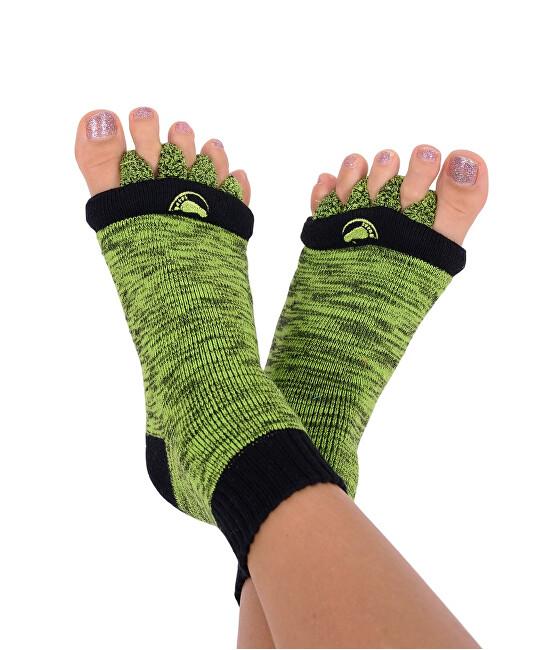 Zobrazit detail výrobku Happy Feet HF09 Adjustační ponožky Green