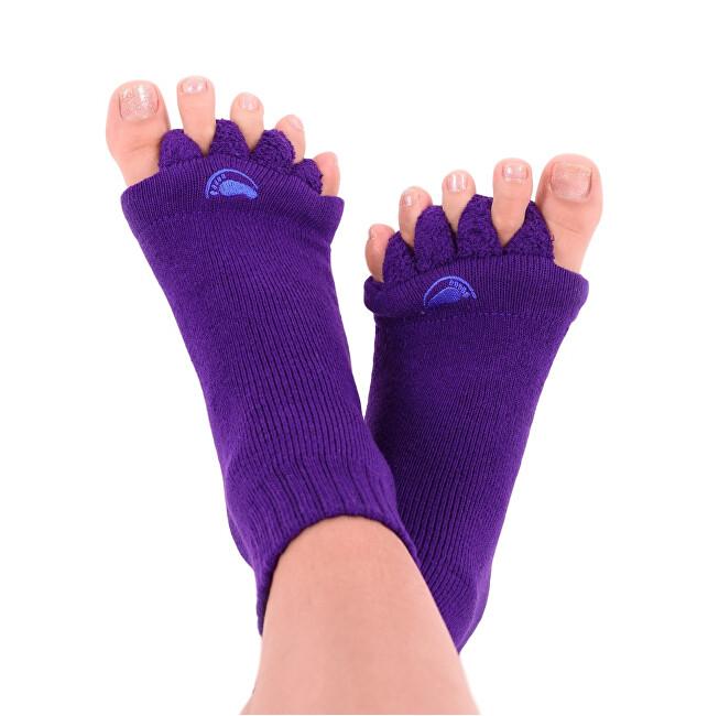 Zobrazit detail výrobku Happy Feet HF11 Adjustační ponožky Purple