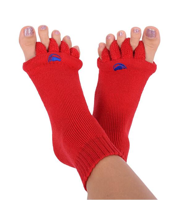 Zobrazit detail výrobku Happy Feet HF03 Adjustační ponožky Red