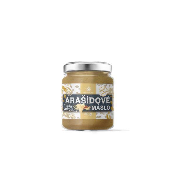 Zobrazit detail výrobku Allnature Arašídové máslo s bílou čokoládou 50 g