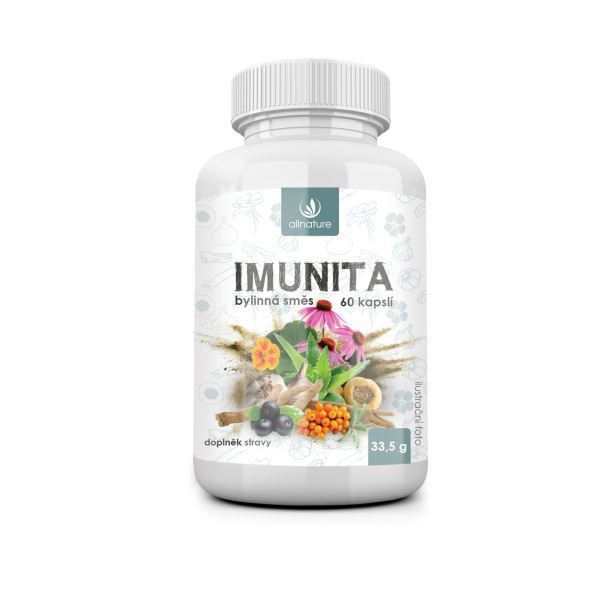 Zobrazit detail výrobku Allnature Imunita bylinný extrakt 60 pastilek