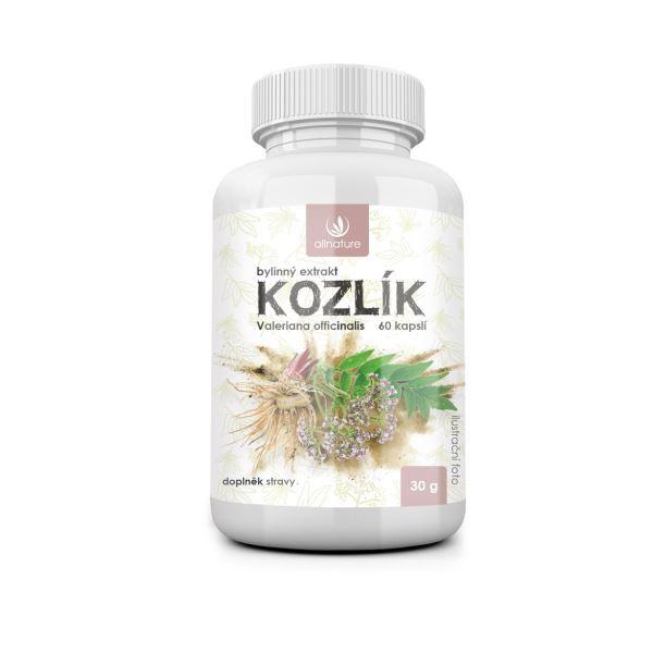 Zobrazit detail výrobku Allnature Kozlík bylinný extrakt 60 pastilek