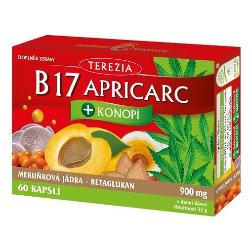 Zobrazit detail výrobku Terezia B17 Apricarc + Konopí 60 kapslí
