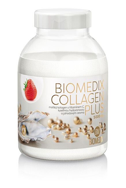 Zobrazit detail výrobku Biomedix Biomedix Kolagen Plus 400 g - jahoda