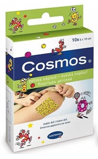 Zobrazit detail výrobku Cosmos dětská náplast 6 cm x 10 cm 10 ks