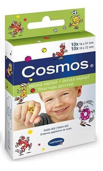 Zobrazit detail výrobku Cosmos Cosmos dětská náplast 2 velikosti 20 kusů