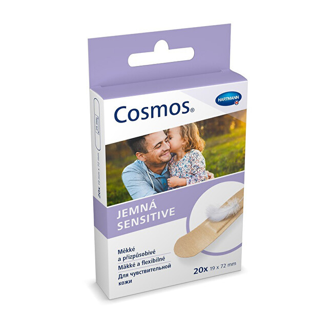 Zobrazit detail výrobku Cosmos Cosmos Jemná náplast 20 kusů